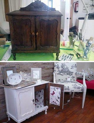 Mesita de noche for the home pinterest ideas - Ver muebles antiguos ...
