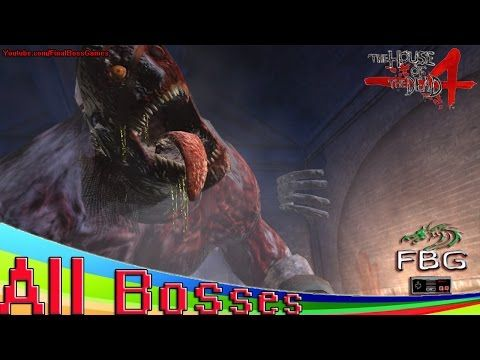The House Of The Dead 4 All Bosses Youtube Cheap Games Boss Games Dead