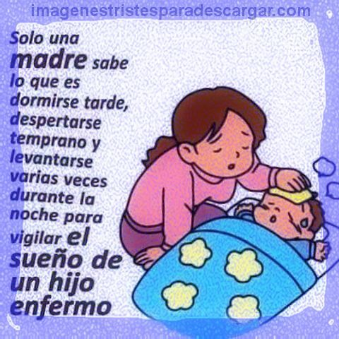 Palabras De Aliento Para Una Madre Con Un Hijo Enfermo