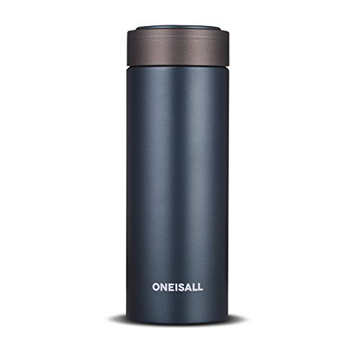 Oneisall Gybl100 270ml Ceramic Liner Flask Vacuum Insulated Stainless Steel W Thermal Flask Insulated Stainless Steel Water Bottle Stainless Steel Water Bottle