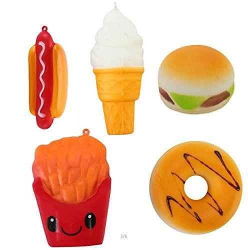 Us 3 99 Meistoyland Squishy Hot Dog Soft Slow Rising Bun Kawaii