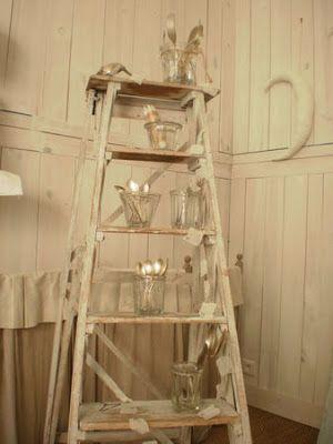 chez marie et les agapanthes escabeau pinterest. Black Bedroom Furniture Sets. Home Design Ideas