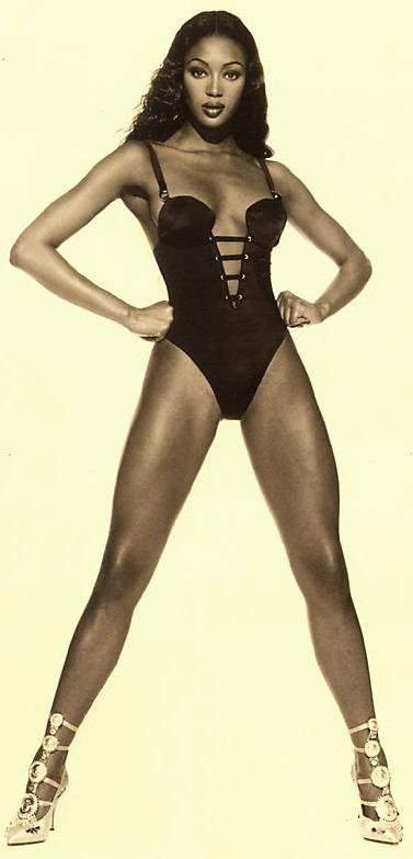 pinterest.com/fra411 #black #beauty - Naomi Campbell. The best body ever!