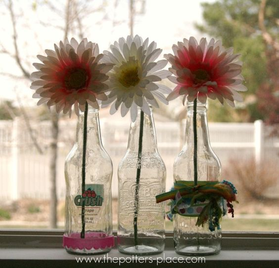 Pop Bottle Decor