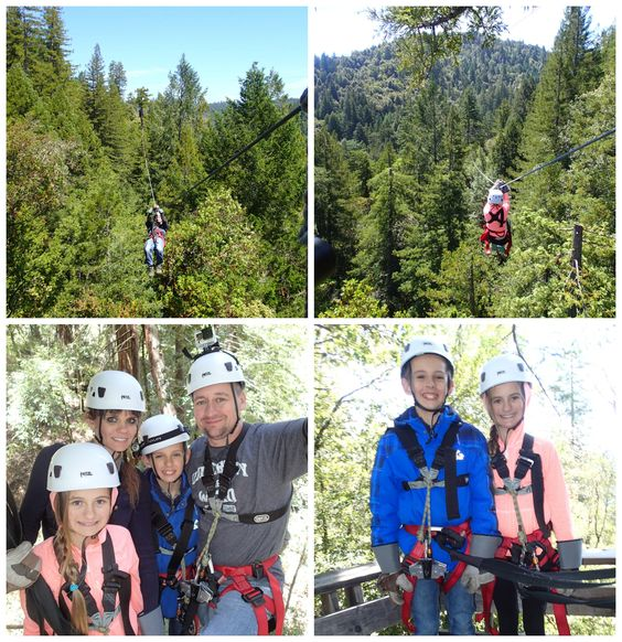 Sonoma Canopy Tours, about zipline, how they work, two experiments to help children understand zip lining.