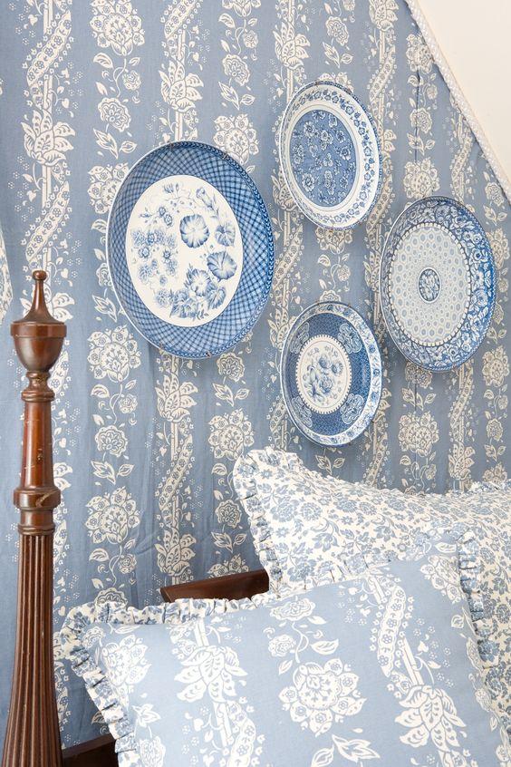 blue & white cottage - B L U E and W H I T E  Pinterest - Blauw witte ...