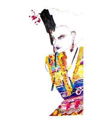 Eleanor Shenton — BA (Hons) Fashion Illustration at London College of Fashion