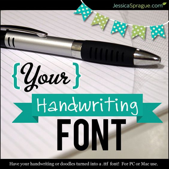 Submit your handwriting and get your very own custom .ttf font ...