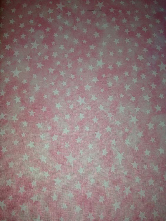 Modas Pink Marble Stars by the yard