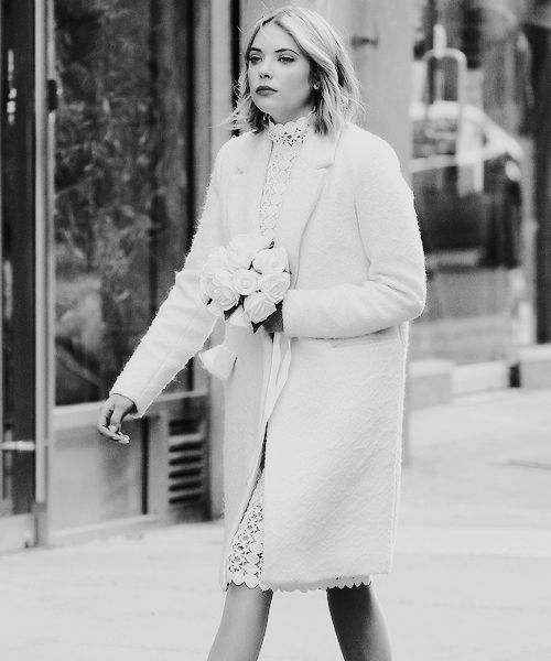 Ashley Benson on the set of 'Chronically Metropolitan' on February 25, 2015 in NYC: