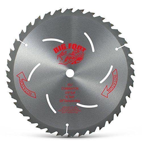 Big Foot 10 1 4 36 Tooth Carbide Tip Blade Big Foot Tools Https Www Amazon Com Dp B0000224sh Ref Cm Sw R Pi Dp U X Tdddcbdsxm4zd Blade Saw Blades Saw Blade