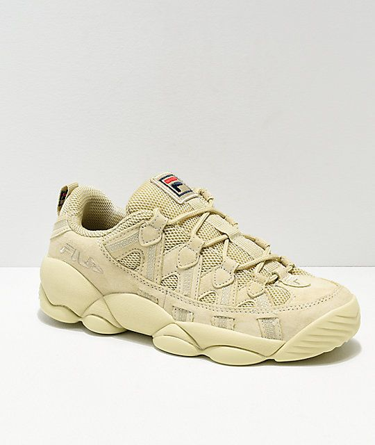 FILA Spaghetti Low Tan Shoes | Zapatillas vans, Zapatillas ...