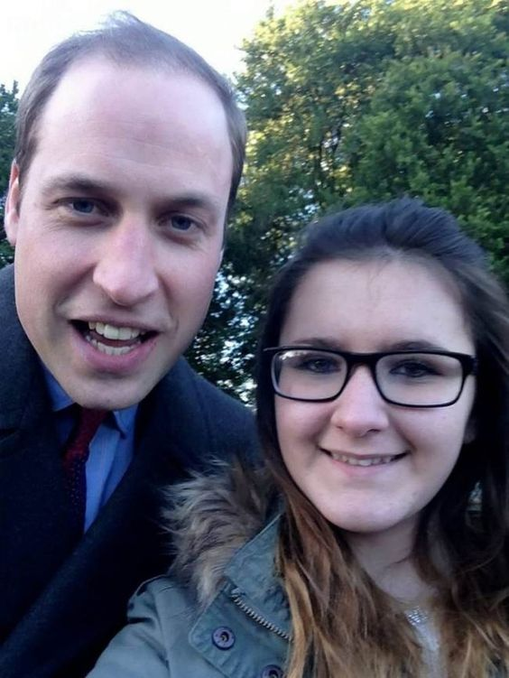 Prince William Takes A Royal Selfie With A 12-Year-Old! (While we may never be royals, there is at least hope for a little Instagram love)