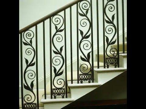 ديكورات سلالم حديد داخلية Garde Corps D Escalier En Fer Forge Youtube Stairs Decor Home
