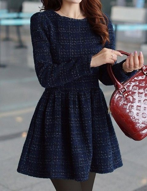 Brilliant Women Tweed Outfits