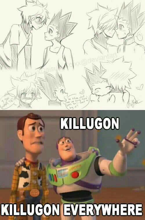 Imágenes Y Memes (Killugon/Gonkillu) - 154 | Hunter x hunter