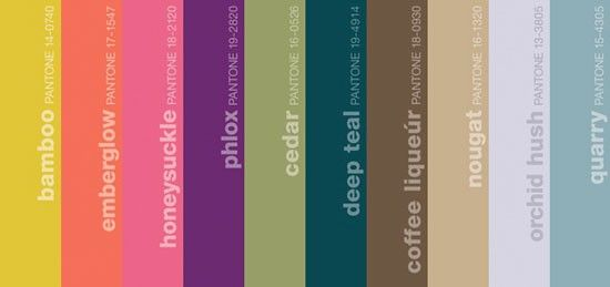 great blog with some wonderful inspiration photos for this Pantone Color Report