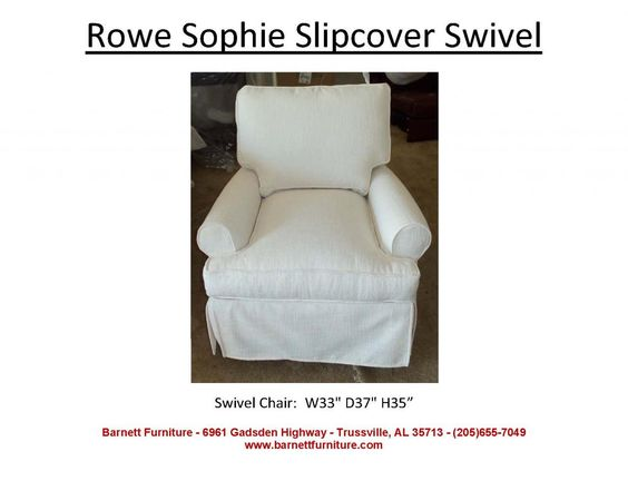 Swivel Chair Furniture And Slipcovers On Pinterest