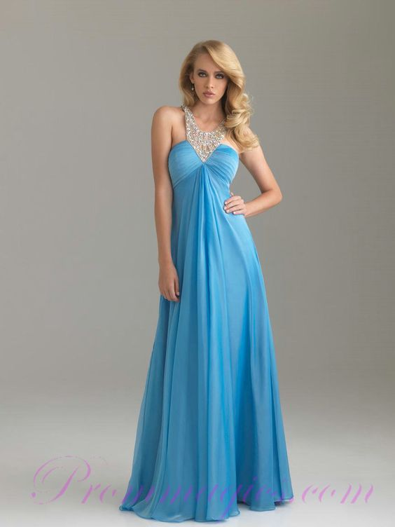 Fashion Blue Elegant Prom Dresses 2011 New Collection Cheap  2011 ...