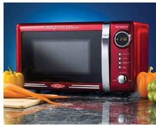 Nostalgia Electrics Retro Series 0.7 cu ft Microwave Oven on sale for $59 with free shipping @ Walmart - HotDeals For the hottest deals check us out at www.hotdeals.com or on FB! www.facebook.com/hotdealscom