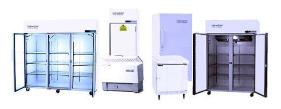 Upright and Chest Industrial Freezers and Refrigerators