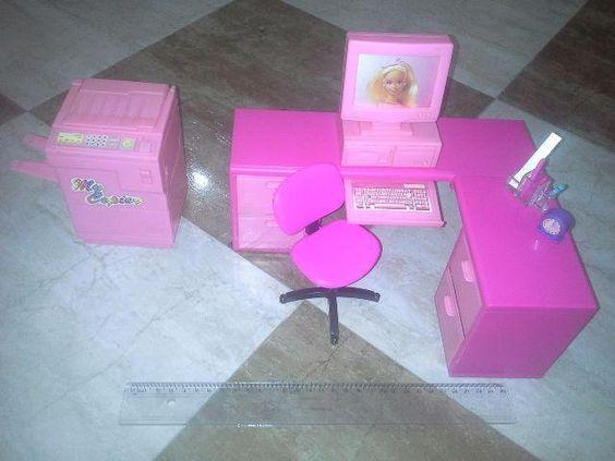 Moveis Escritório da Barbie