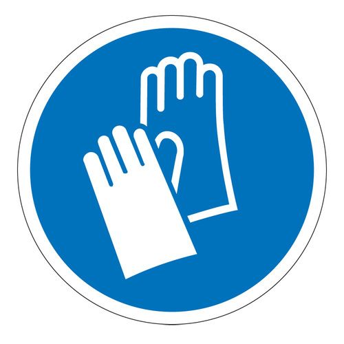 Standard Iso 7010 Symbol Meaning Wear Protective Gloves To