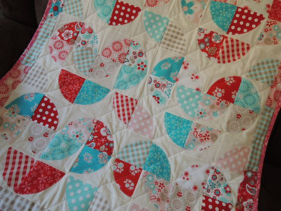 Pattern, Disappearing Heart Quilt, Make with Layer Cakes, Quilt Pattern Tutorial with photos, pdf, INSTANT Download thru Etsy