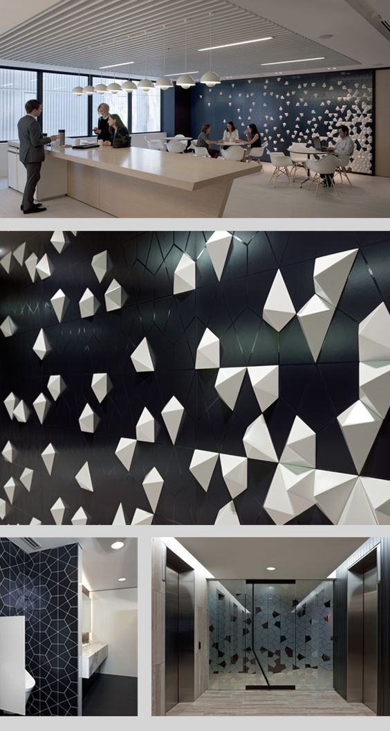 Sydney corporate interiors and offices on pinterest for Creative home office interior design