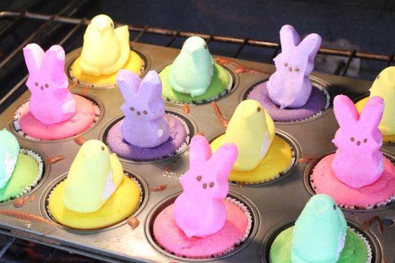 Peep! Skip The Frosting Cupcakes | Toni Spilsbury