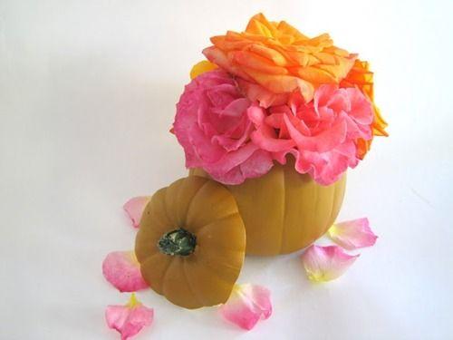 Pumpkin vase inspired by Lauren Conrad