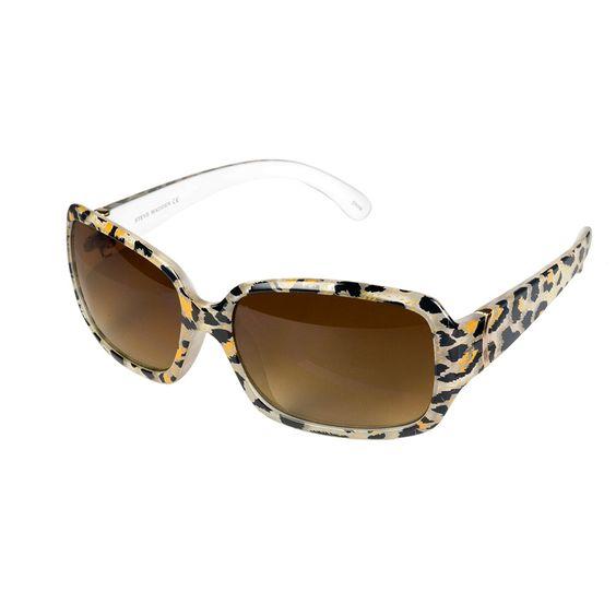 Animal Square Frame Sunglasses