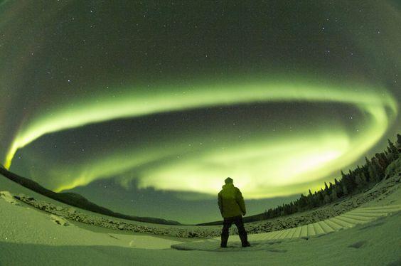 Northern Light 20th november 2014 : Laisan river, Laisvallby.  Aurora borealis, aurore boréales, norrsken,