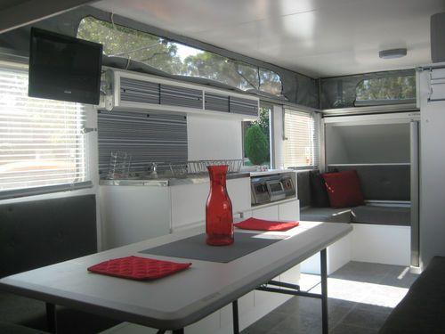 Contemporary caravan interior not sure about the loose for Small caravan interior designs