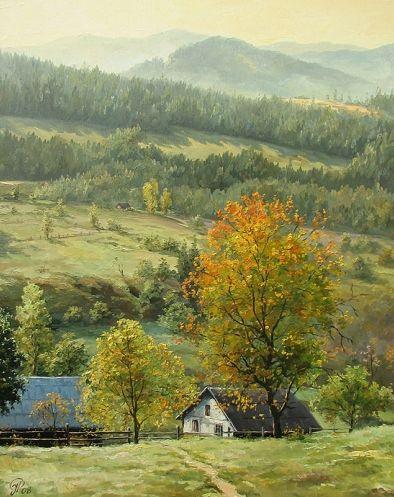 """ Cherry tree"" ( chereshnya) , by Ihor Ropyanyk , Ukraine, from Iryna"