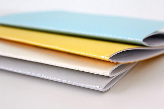 DIY: sewn journals