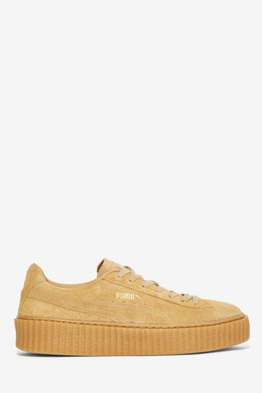 puma by rihanna beige creeper