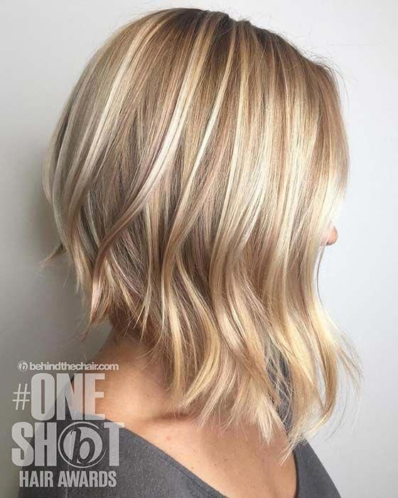 23 Trendy Short Blonde Hair Ideas For 2019 With Images Wavy