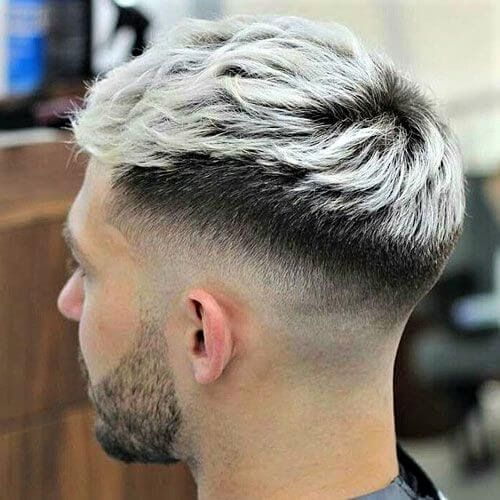 60 Hair Color Ideas For Men You Shouldn T Be Afraid To Try Silver Hair Dye Best Guide About Grey Silver Hair Men Te In 2020 Grey Hair Wax Dyed Hair