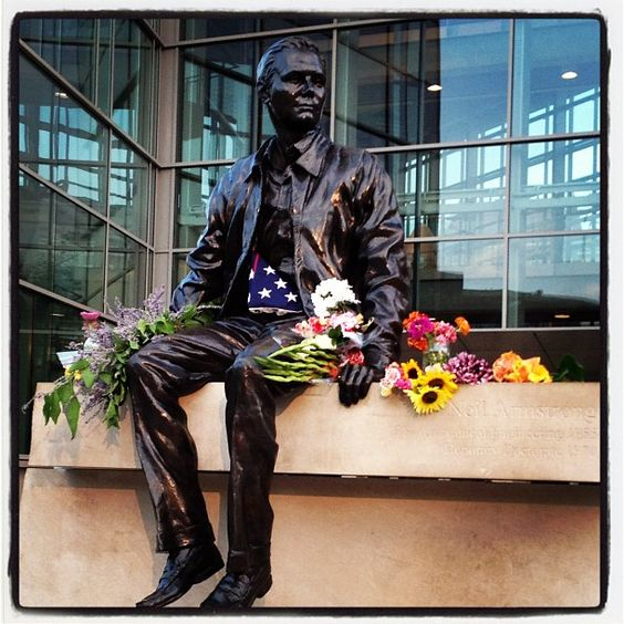 Campus is mourning the loss of Neil Armstrong, a Purdue graduate and the first man on the moon.