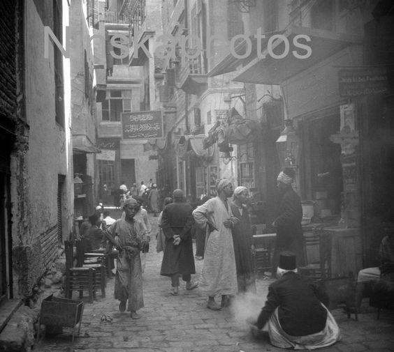 The Coffee Roaster - Street Scene in Cairo, Egypt by J. Dearden Holmes, 1920s antique photo reprint by Ninskaphotos on Etsy https://www.etsy.com/uk/listing/384896582/the-coffee-roaster-street-scene-in-cairo