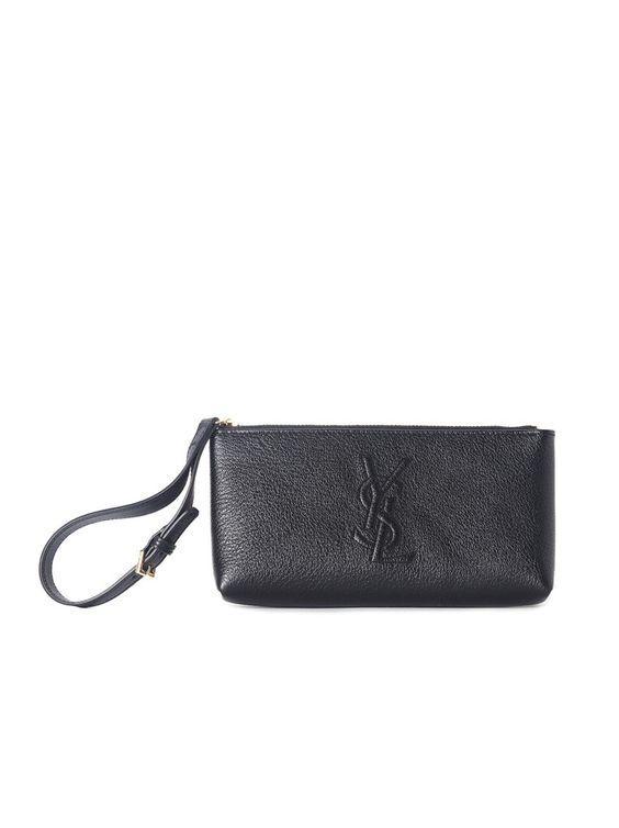large ysl clutch in red patent leather - Belle De Jour Wristlet - Black �C Amuze | - AMUZE | SAINT LAURENT ...