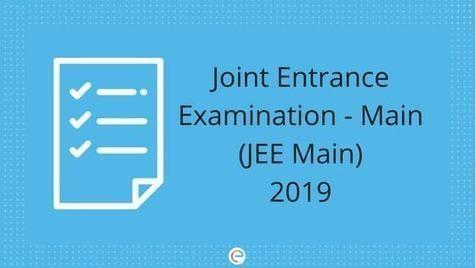 Jee Main 2020 April Postponed Exam Dates Admit Card Syllabus Exam Syllabus Entrance Exam