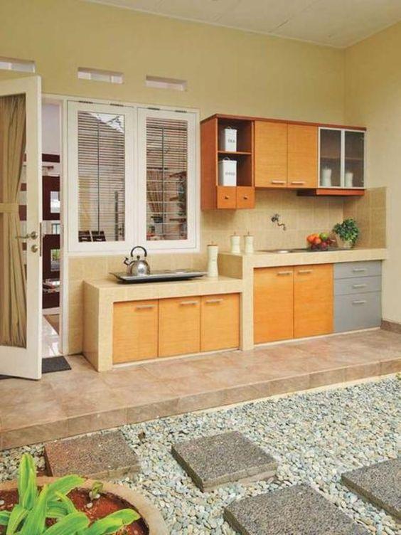 dapur outdoor sederhana