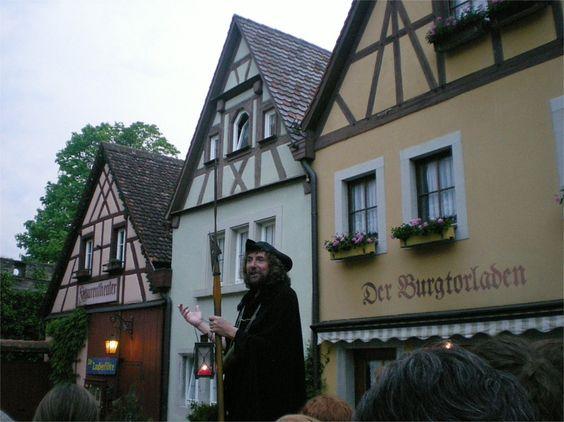Тур з нічним вартовим, Ротенбург-на-Таубері, Німеччина