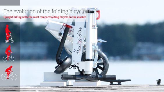 Bicicleta dobravel - Kwiggle Bike