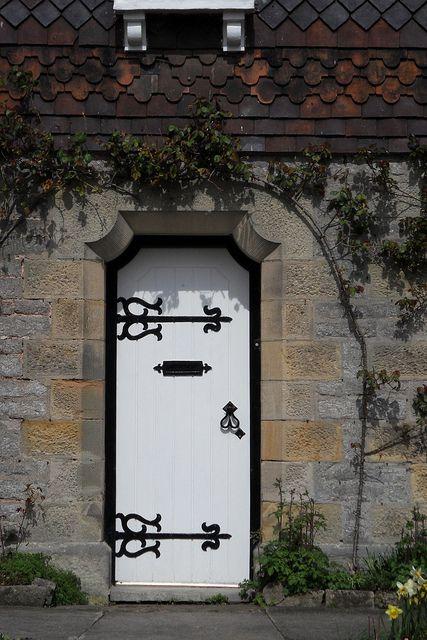 Cottage Door Illam by ianpreston, via Flickr