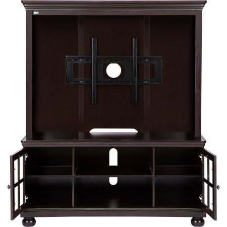 """Better Homes and Gardens Espresso TV Stand with Hutch, for TVs up to 50"""""""