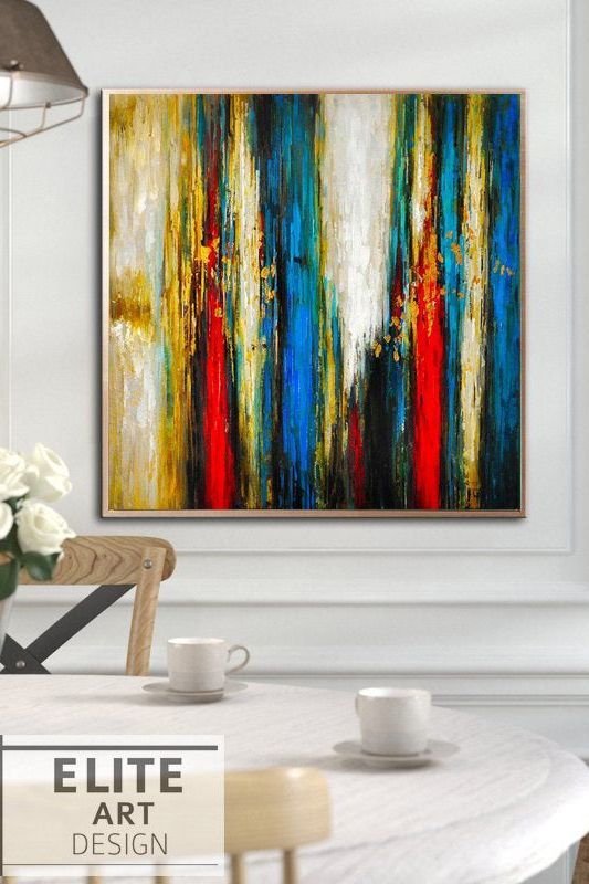Abstract Oil Paintings On Canvas Acrylic Painting Thick Colorful Oil Extra Large Abstract Painting Canvas Art Wall Painting For Living Room Painting Oil Painting Abstract Acrylic Painting Canvas