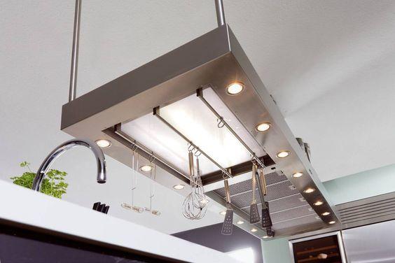 Horizon XL Essenlüfter und Licht-Funktionselement aus einem Guß
